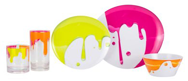 Zak Design zak designs! creating a fresh new look with paint….. dinnerware and