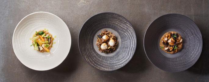 Revol Porcelain: New ABORESCENCE Dinnerware, Enhancing Guestsu0027 Senses