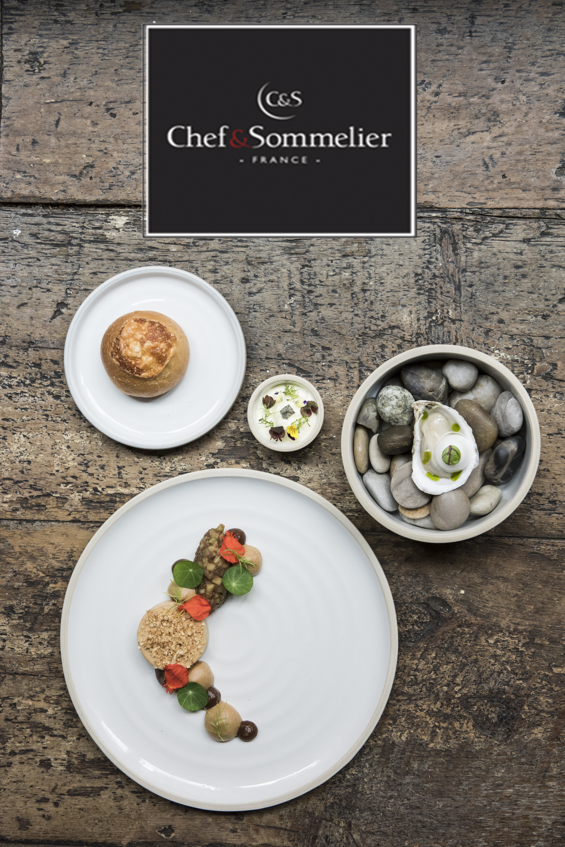 Chef Sommelier Launches Geode Stoneware Dinnerware Collection